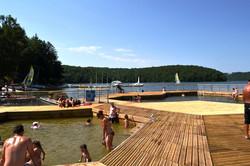 piscine flottante Aurillac