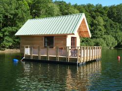 maisons sur l'eau Saint Gérons