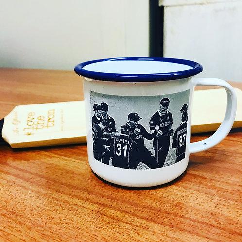 Custom enamel mugs