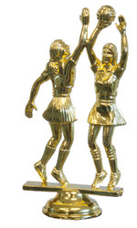 Minature Figurine Trophy - plastic figurine on a base with engraved plate