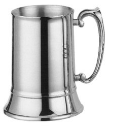 Plain Stainless Tankard