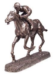 Horse racing 205mm x 60mm base, 197mm tall