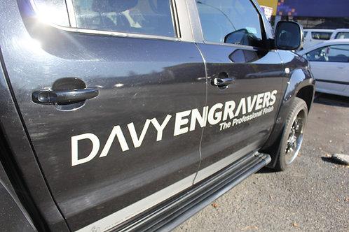 Vehicle Signage - Customised to suit