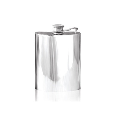 Plain Pewter Hip Flask 60oz