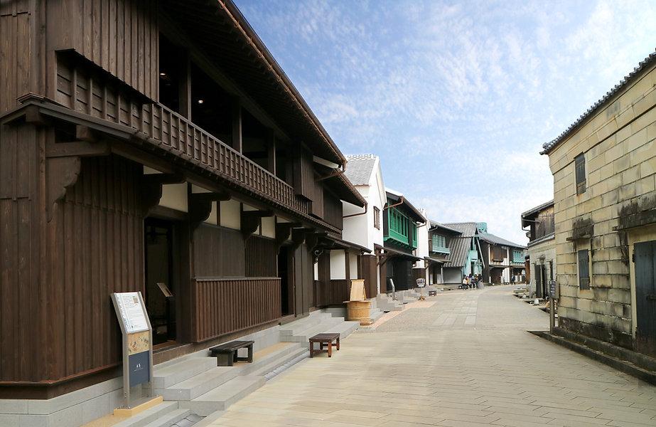Restored street of Dejima.jpg