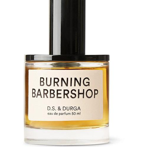 BURNING BARBERSHOP by D.S DURGA 5ml Travel Spray HAY ROSE LAVENDAR