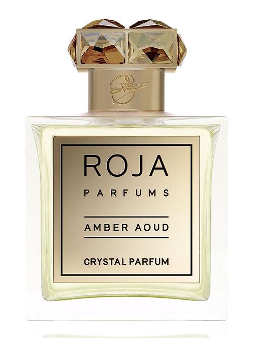 AMBER AOUD CRYSTAL by ROJA DOVE 5ml Travel Spray Saffron Civet