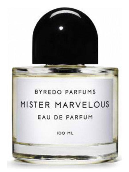 MISTER MARVELOUS by BYREDO 5ml Travel Spray Homme Mandarin Bamboo Cedar