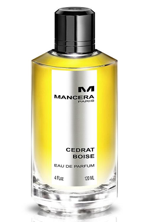 CEDRAT BOISE by MANCERA 5ml Travel Spray Leather Moss Lemon