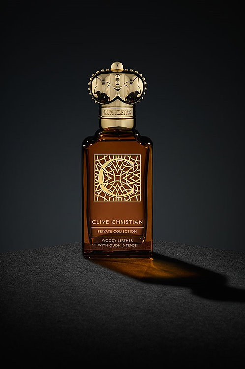 C Woody Leather by Clive Christian 5ml Travel Spray Oud Elemi Mate