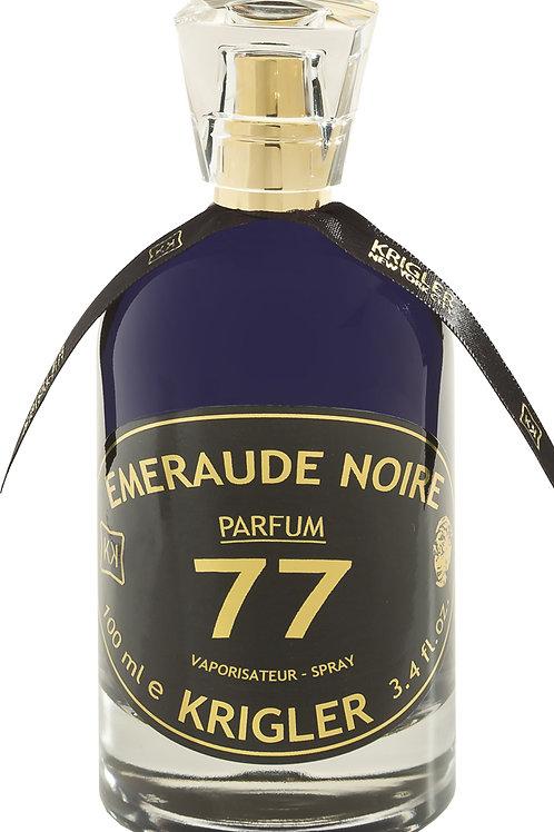 EMERAUDE NOIRE 77 by KRIGLER 5ml Travel Spray NUTMEG AMBER PEPPER