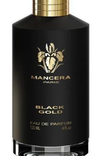 BLACK GOLD by MANCERA 5ml Travel Spray Vetiver Oud Citrus
