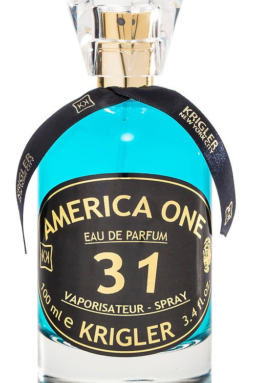 AMERICA ONE 31 by KRIGLER 5ml Travel Spray Mandarin Neroli Pepper