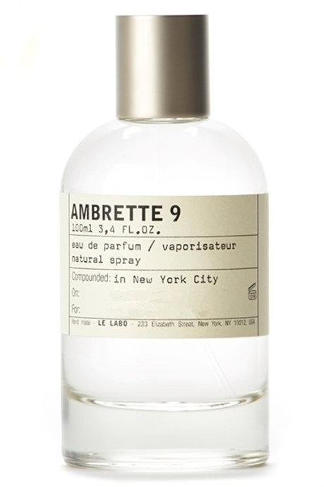 AMBRETTE 9 by LE LABO 5ml Travel Spray Perfume Pear Apple Baby Fragrance A9