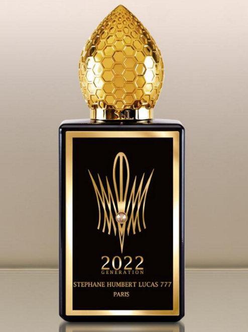 GENERATION 2022 BLACK by 777 5ml Travel Spray Oud Black Currant Yuzu Perfume SHL