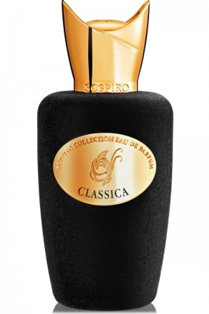 CLASSICA by SOSPIRO 5ml Travel Spray OUD COPAHU TOBACCO AMBERGRIS Parfum