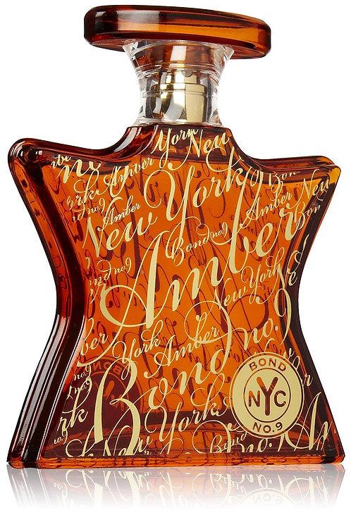 NEW YORK AMBER by BOND No.9 5ml TRAVEL SPRAY Saffron Benzoin