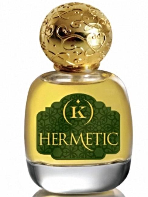 HERMETIC by KEMI 5ml Travel Spray PEACH INCENSE OUD Harrod's