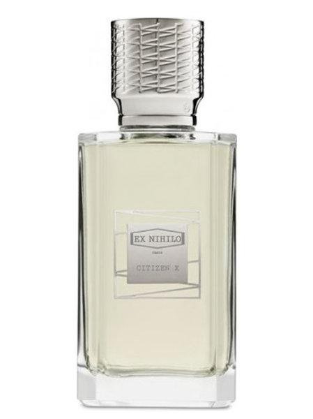 CITIZEN X by EX NIHILO 5ml Travel Spray Perfume Mastic Olibanum