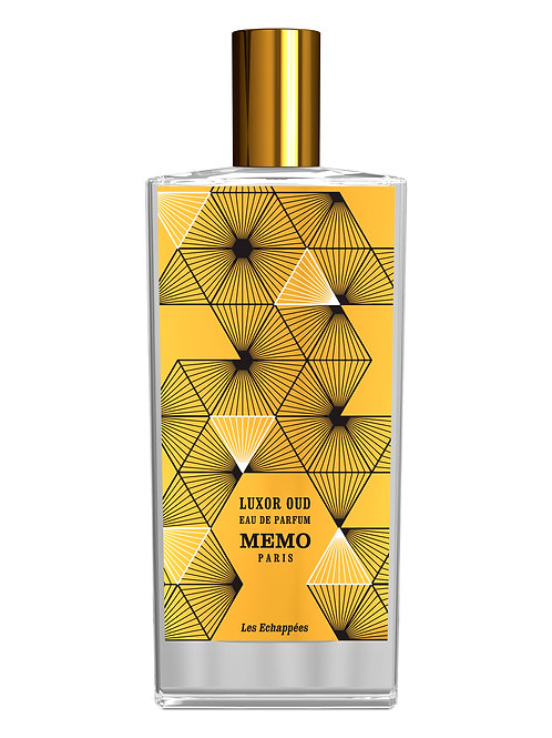 LUXOR OUD by MEMO 5ml Travel Spray Desert Rose Oud Labdanum
