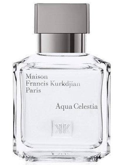 AQUA CELESTIA by FRANCIS KURKDJIAN 5ml Travel Spray MFK Musk Mint Lime