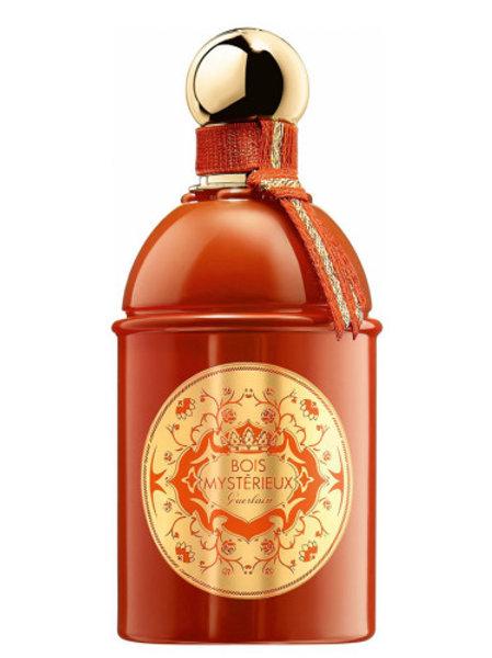 BOIS MYSTERIEUX  by GUERLAIN 5ml Travel Spray Perfume Cedar Leather Laurels