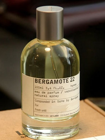 BERGAMOTE 22 by LE LABO 5ml Travel Spray Grapefruit Petitgrain