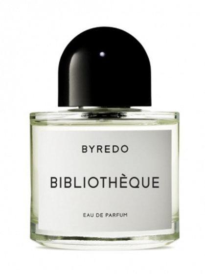 BIBLIOTHEQUE by BYREDO 5ml Travel Spray PLUM VIOLET LEATHER