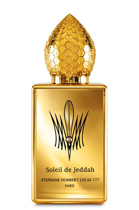 SOLEIL DE JEDDAH by 777 5ml Travel Spray Perfume Osmanthus Leather