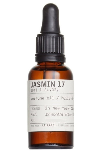 JASMIN 17 OIL by LE LABO 5ml Travel Roll On J17 Orange Blossom Amber