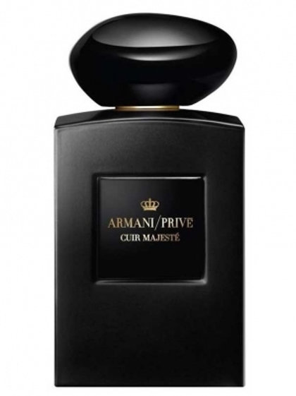 CUIR MAJESTE by ARMANI/PRIVE 5ml Travel Spray PURE PARFUM Oud Moss Vanilla UK