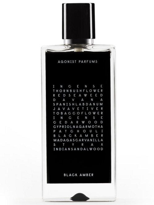 BLACK AMBER by AGONIST 5ml Travel Spray STYRAX SEAWEED VETIVER