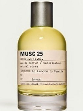 MUSC 25 by LE LABO 5ml Travel Spray M25 Los Angeles Aldehyde Rose