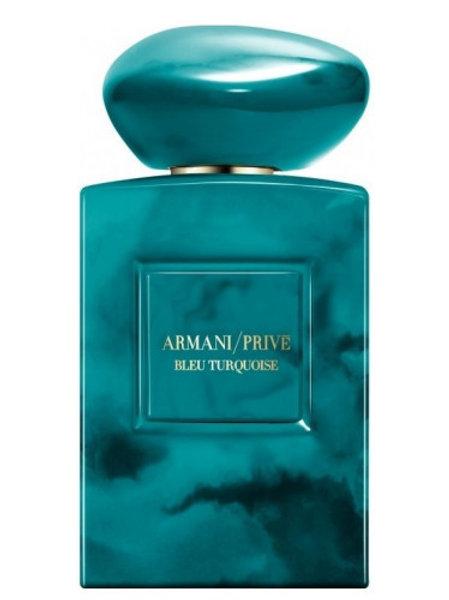 BLEU TURQUOISE by ARMANI/PRIVE 5ml Travel Spray Perfume PEPPER JASMINE MOSS