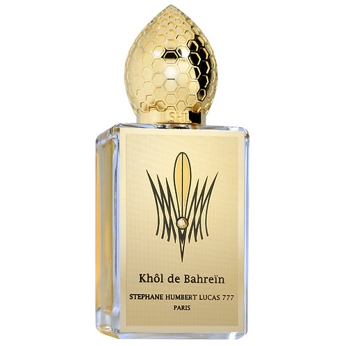 KHOL DE BAHREIN by 777 5ml Travel Spray Parfum SHL Ambergris Iris Sandalwood