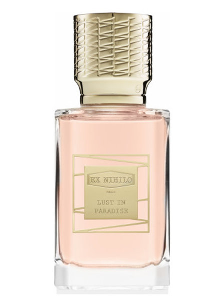 LUST IN PARADISE by EX NIHILO 5ml Travel Spray Perfume Pink Pepper Peony