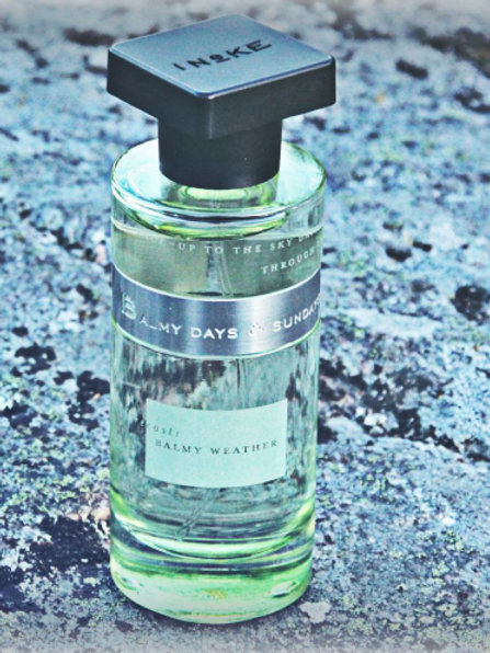 BALMY DAYS & SUNDAYS by INEKE 5ml Travel Spray CHYPRE FREESIA GREEN Perfume