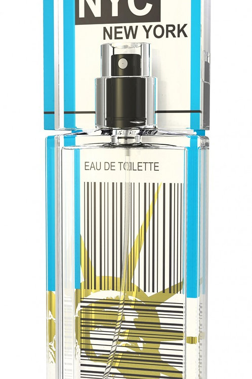 NEW YORK CITY by SCENT of DEPARTURE 5ml Travel Spray NYC APPLE CARAMEL