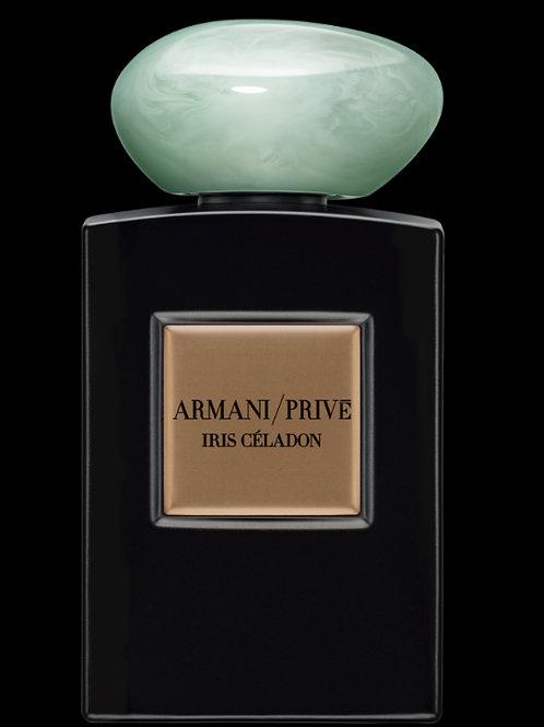 IRIS CELADON by ARMANI/PRIVE 5ml Travel Spray Perfume Chocolate Patchouli