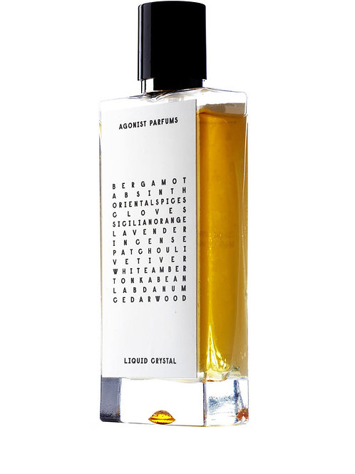 LIQUID CRYSTAL by AGONIST 5ml Travel Spray EDP BERGAMOTE CEDARWOOD Perfume