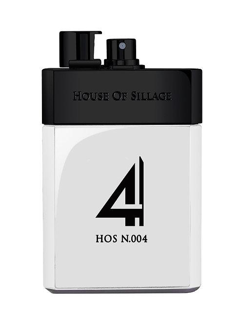 HOS N.004 by HOUSE OF SILLAGE 5ml Travel Spray Bergamote Patchouli