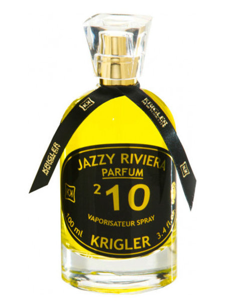 JAZZY RIVIERA 210 by KRIGLER 5ml Travel Spray Bergamote Freesia Patchouli