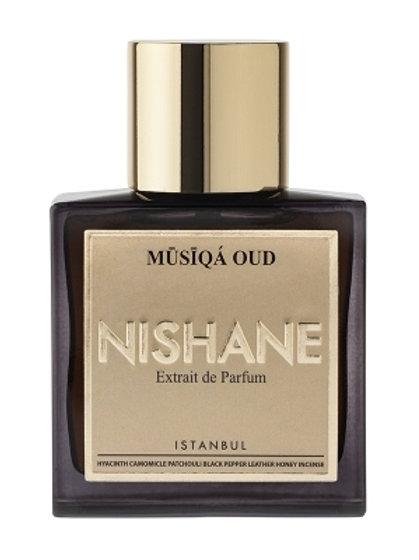 MUSIQA OUD by NISHANE 5ml Travel Spray AMYRIS SAFFRON GAIAC Perfume Istanbul