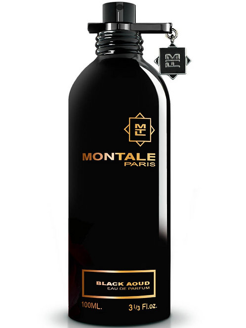 BLACK AOUD by MONTALE 5ml Travel Spray Oud Labdanum Musk Patchouli Rose PERFUME
