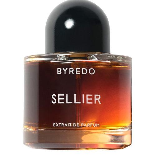 SELLIER by BYREDO 5ml Travel Spray Parfum Night Veils Tobacco Leaves