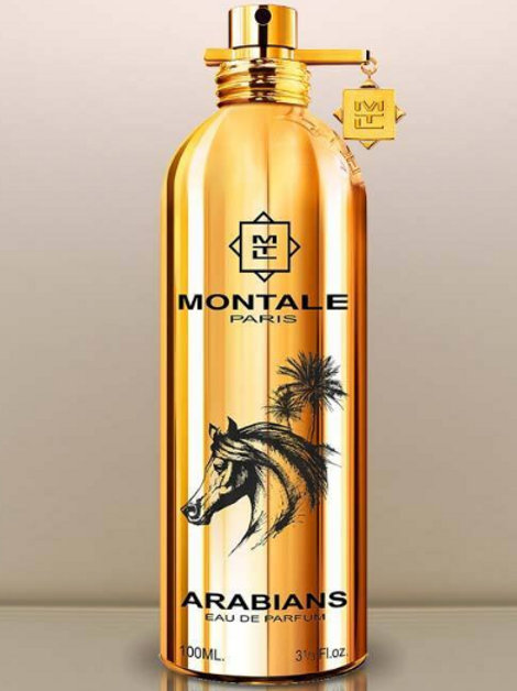 ARABIANS by MONTALE Perfume 5ml Travel Spray Ambergris Leather Patchouli