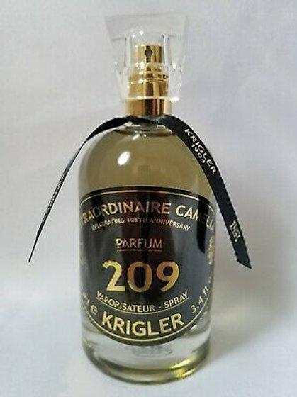 EXTRAORDINAIRE CAMELIA 209 by KRIGLER 5ml Travel Spray Vanilla Cedar