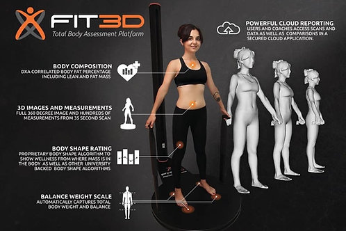 Fit3D Body Pro Scanner (Individual Scan)