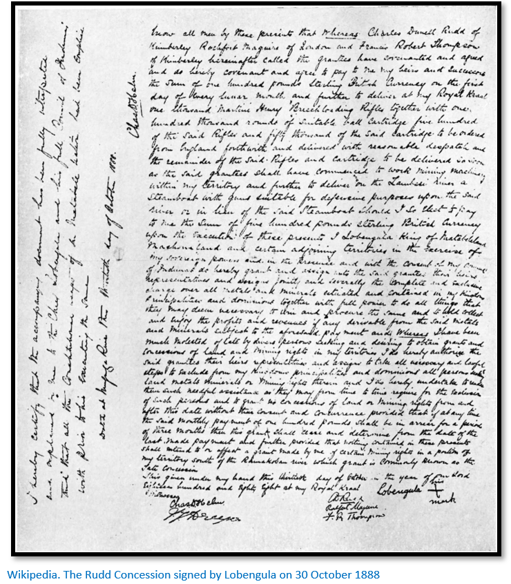Lobengula signature