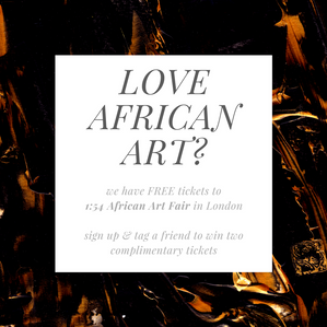 Love African Art? We have FREE 1:54 African Art Fair tickets!